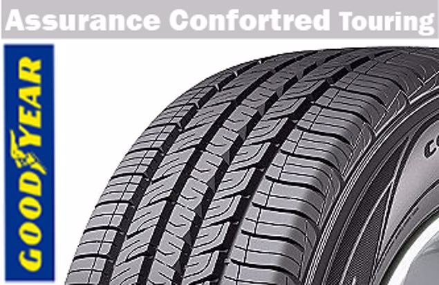 Image de Pneu Goodyear 205/60R16 ASS COMF TOUR