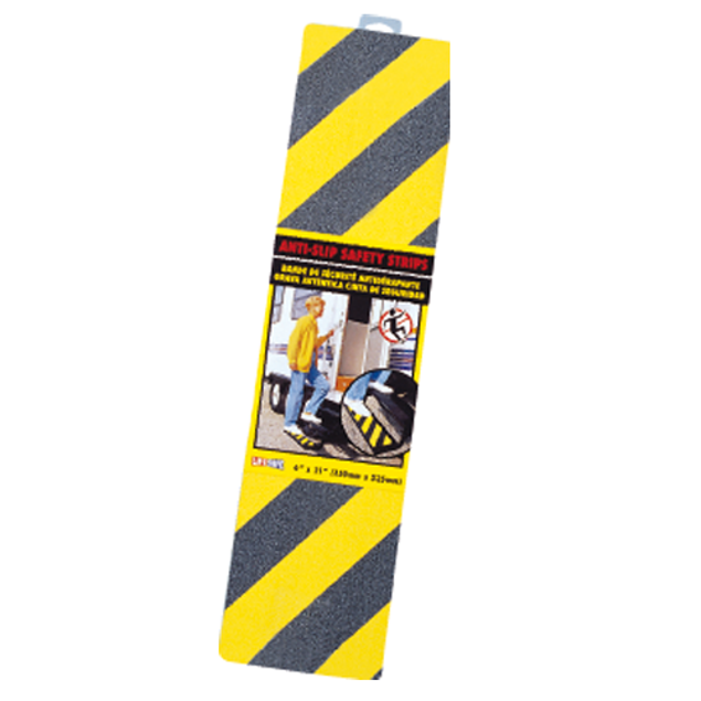 Image de YELLOW/BLACK GRIT STRIP-(
