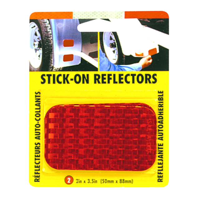 Image de STICK-ON REFLECTOR-RED 2/