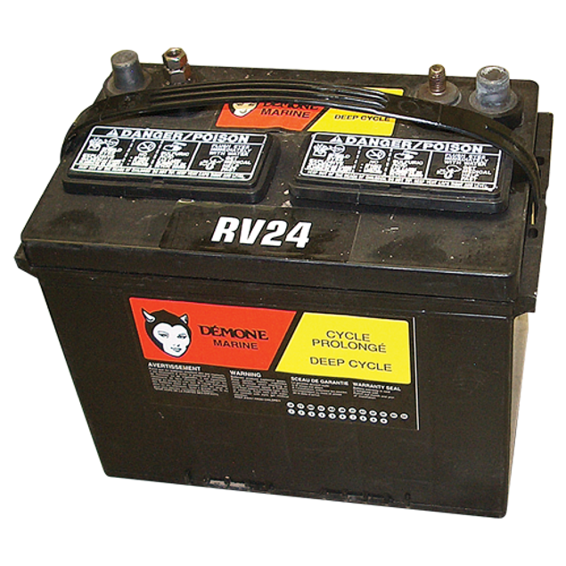 Image de BATTERIES 12v MARINE/RV