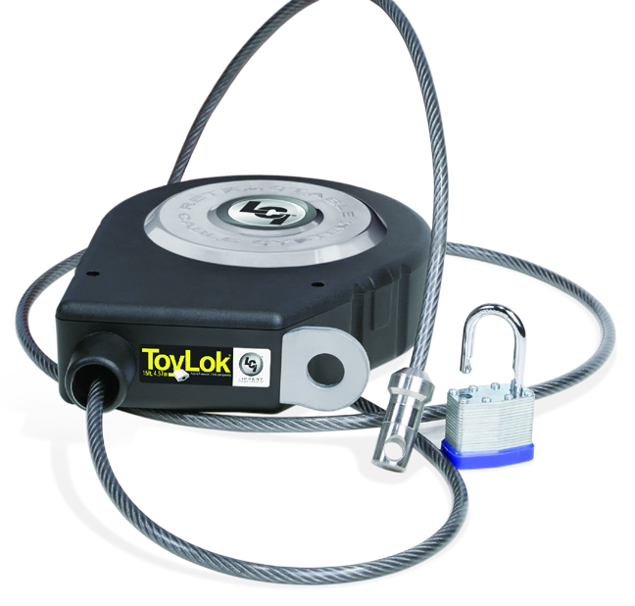Image de CABLE LOCK - TOYLOCK, 15' L RE