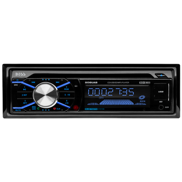 Image de RADIO 1DIN MP3/CD/AM/FM USB
