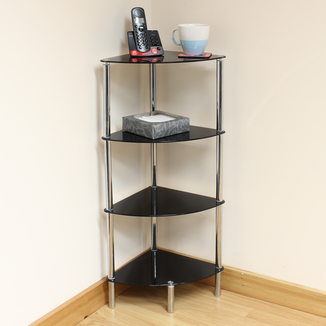 Image de Chrome Finish Display Rack - 4 Tier