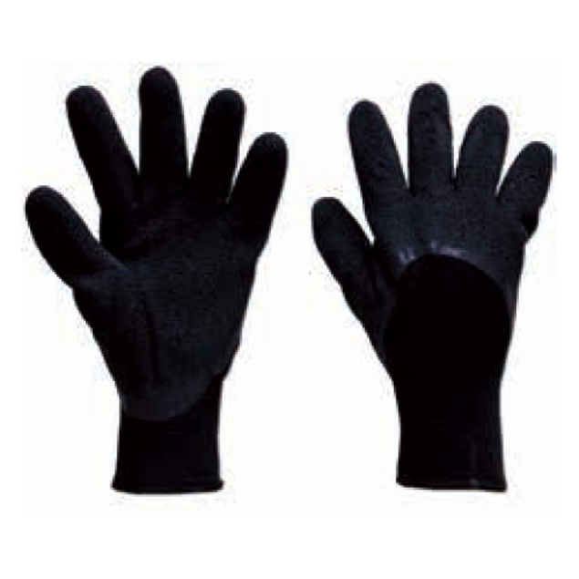Image de (1 PAIRE)GANTS LATEX NYLON MEDIUM
