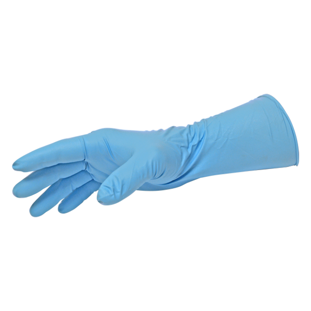 Image de 50 Gants de Nitrile - Grand 12 8mil - BLACK PAW
