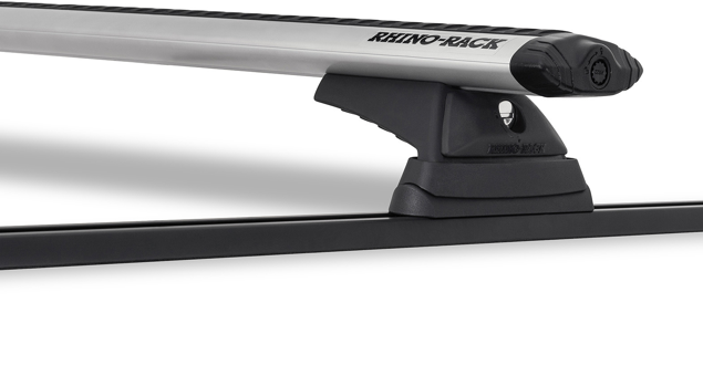 Image de Vortex RCL Trackmount Silver 2 Bar Roof Rack